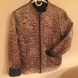 Chico's Reversible Quilted Jacket